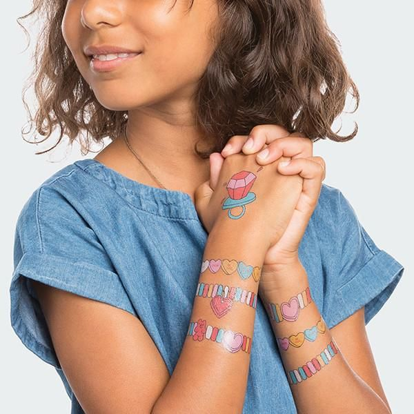 Sweetly Scented Temporary Tattoos