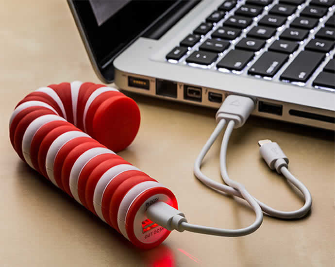 Candy Cane Chargers