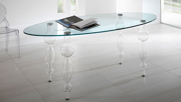 Glass-Blown Table Legs