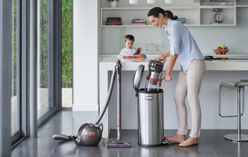 Self-Balancing Canister Vacuums