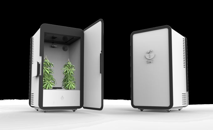 Smart Cannabis-Growing Planters