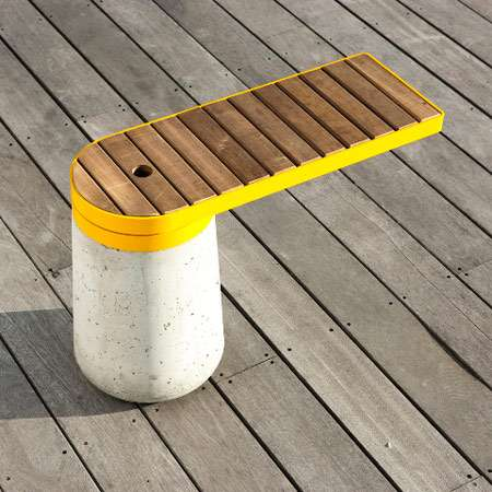 Mutated Wood Benches
