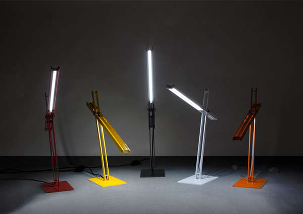 Cantilevered Desk Lamp
