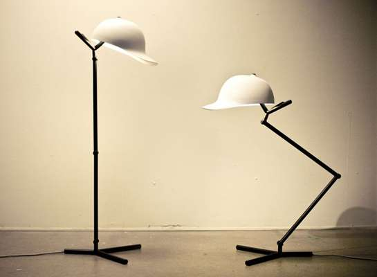 Cap Lamp by Mars