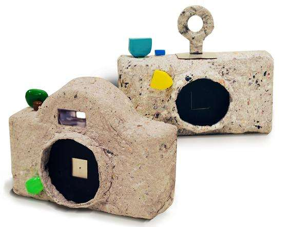 Recycled Paper Cameras