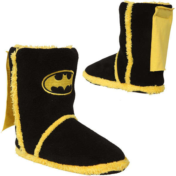 Caped Crusader Slippers