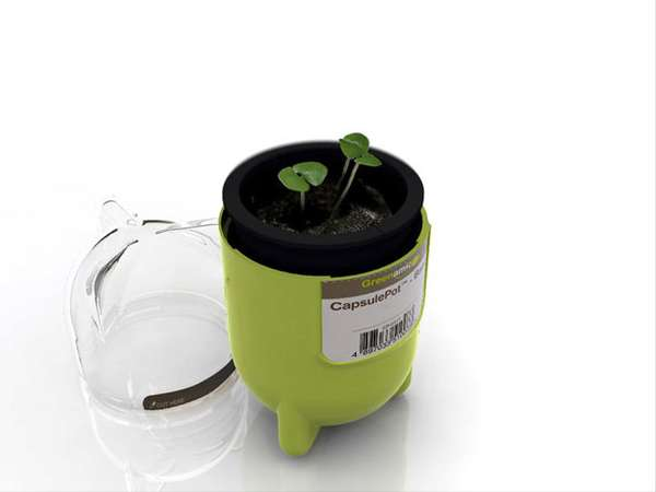 Encapsulated Herb Gardens