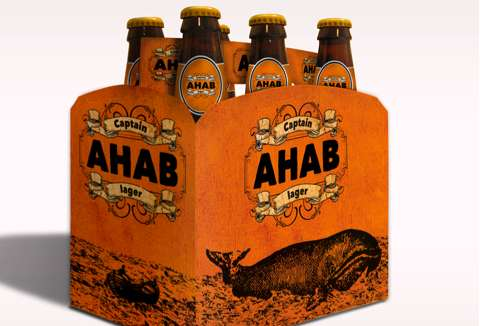 Captain Ahab Lager Packaging