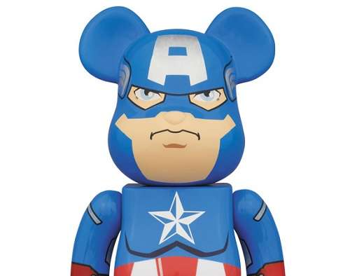 Captain America Bearbrick Toy