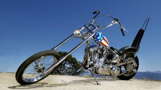 classic captain america chopper - photo #2
