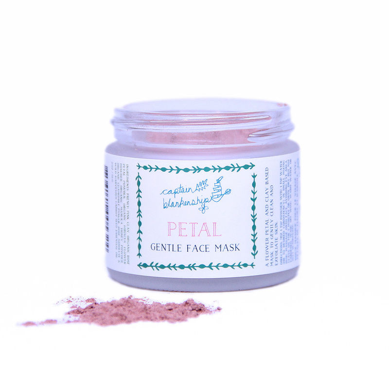 Petal-Infused Face Masks