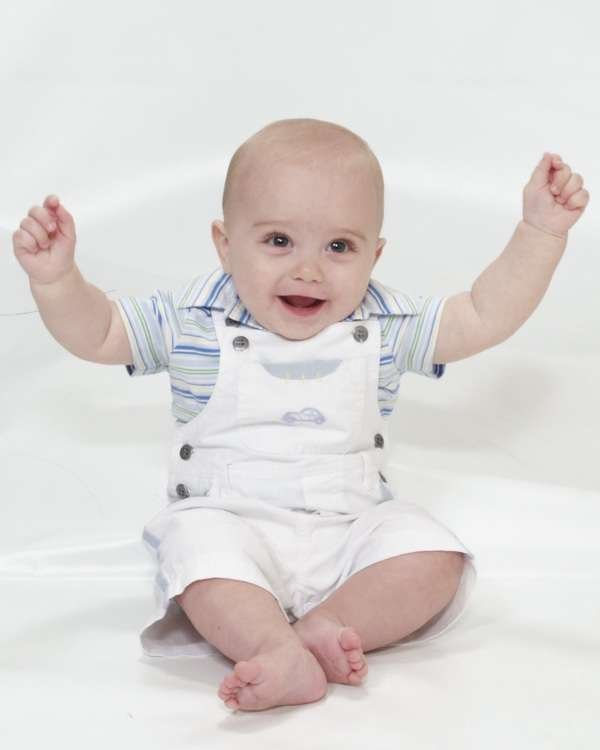 Jubilant Baby Photography