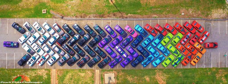 Rainbow Car Conventions