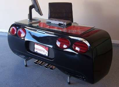 Red Corvette Workspaces