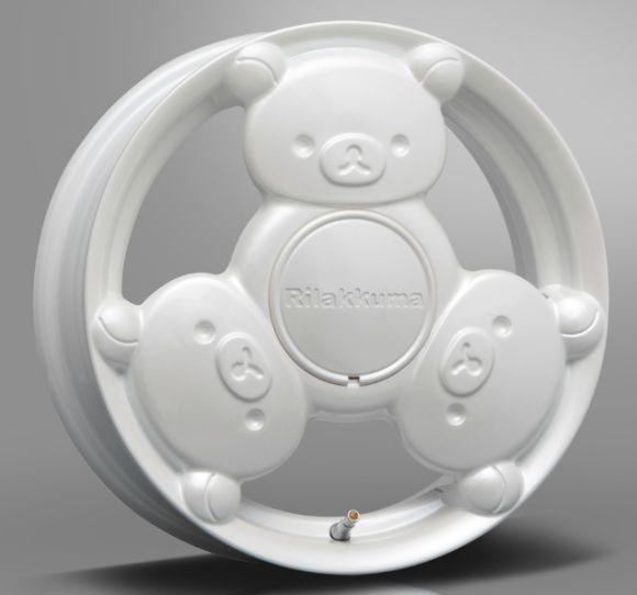 Cartoon Bear Car Rims