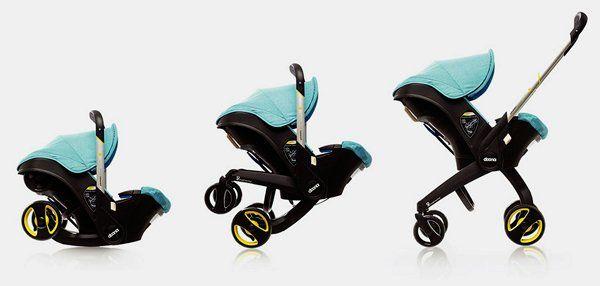 Transformative Stroller-Seats