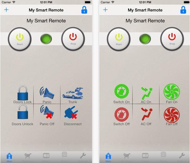 Smart Car Remotes