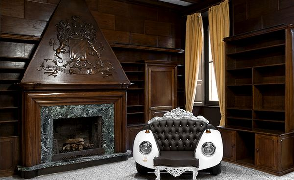 Retro Car-Infused Couches