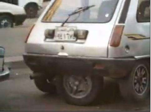 5-Wheeled Cars