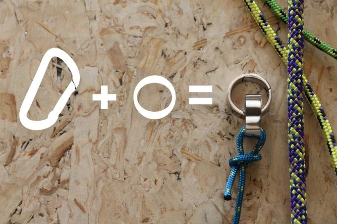 Clippable Carabiner Rings