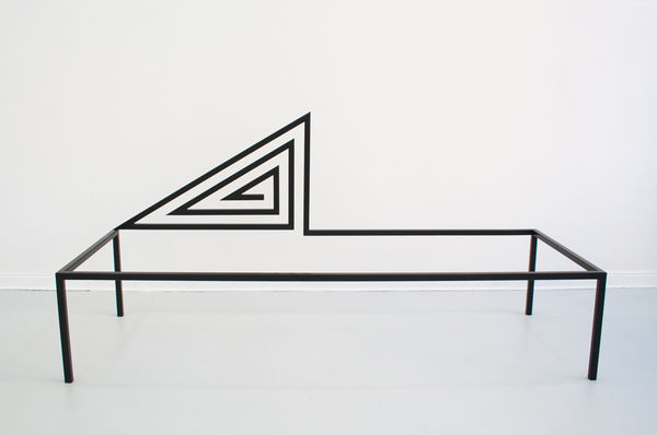 Geometric Furniture-Like Sculptures