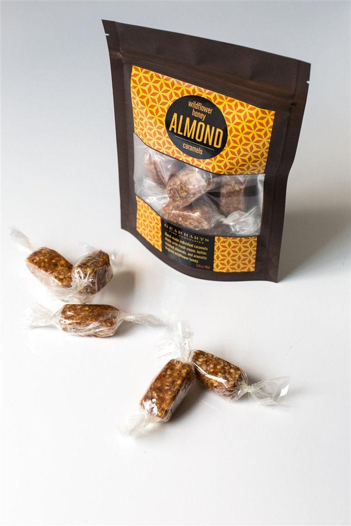 Textured Honey Caramels