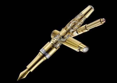 Pen Pays Homage to Swiss Watchmakers