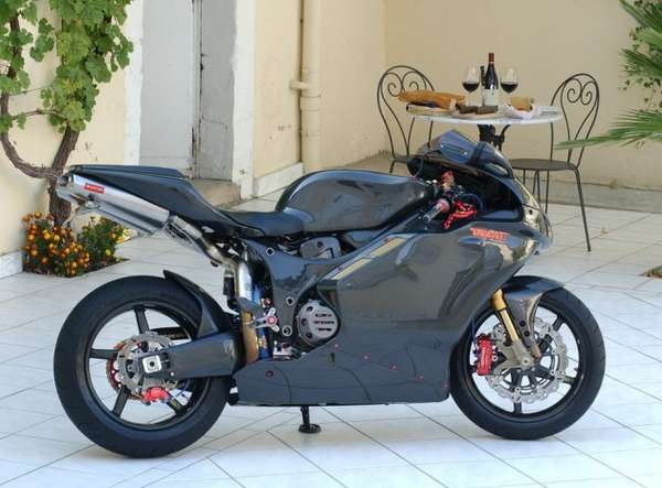 Carbon-Fiber Motorcycles