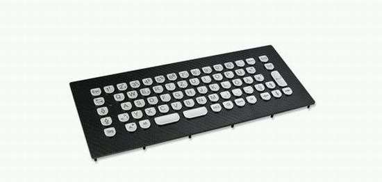 Carbon-Fiber Keyboards