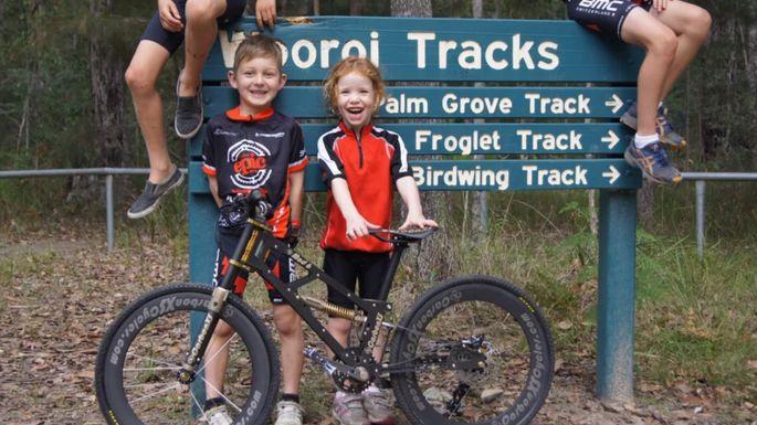 Child-Centric Mountain Bikes