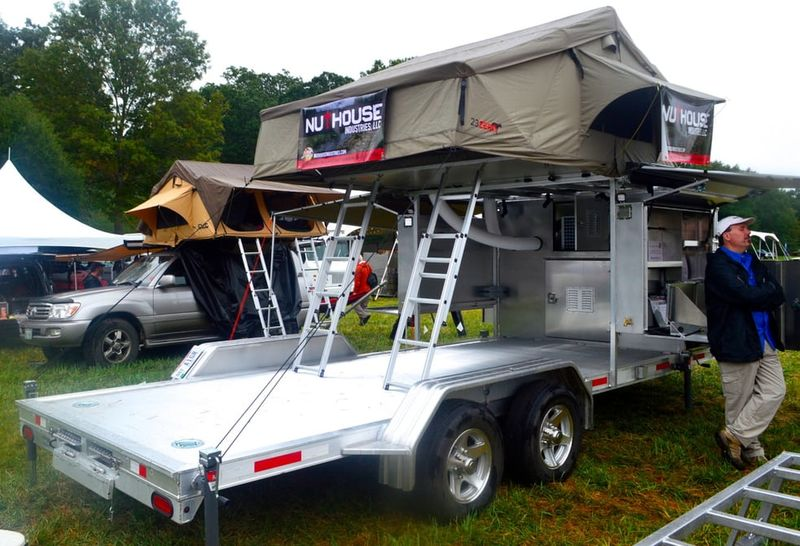 Car Carrying Camping Trailers Camping Trailer