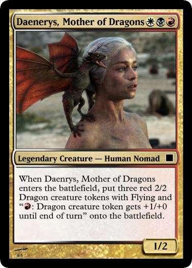Fantasy-Based Card Designs