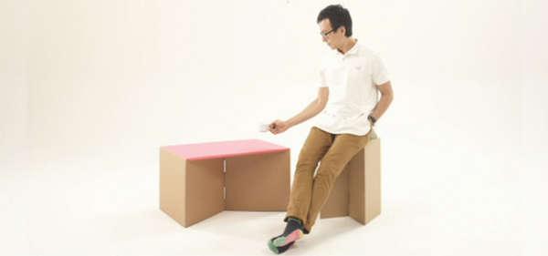 Cardboard Cut Out Furniture Cardboard Box Furniture