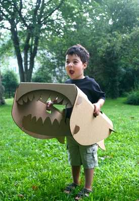 Wearable Cardboard Creatures