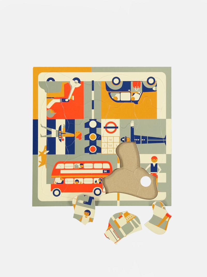Metropolitan Cardboard Puzzles