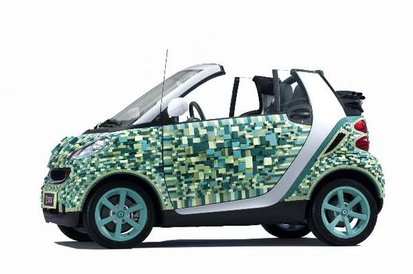 Recyclable Mini-Cars