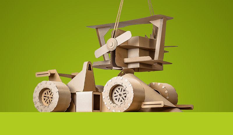 DIY Cardboard Toys