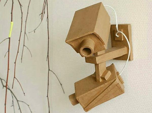 Crafty Cardboard CCTVs