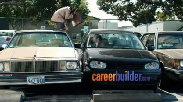 comedic chimpanzee commercials careerbuilder  superbowl ad