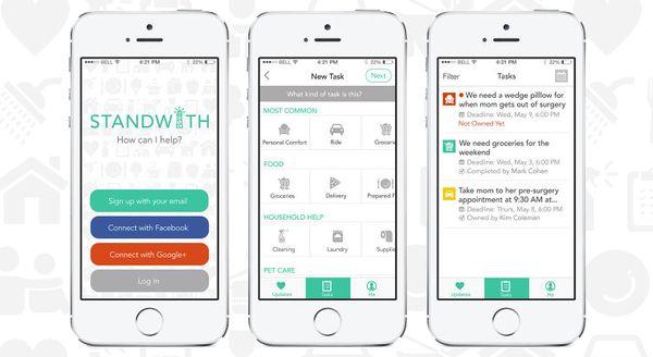 Collaborative Caregiving Apps