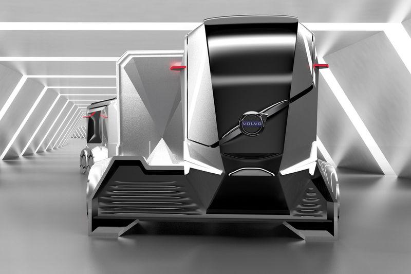 Modular Electromagnetic Shipping Trucks