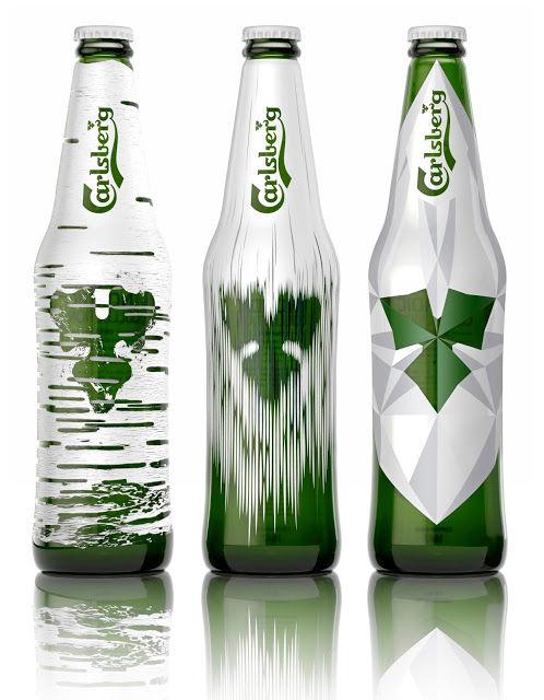 Nordic-Themed Beer Bottles