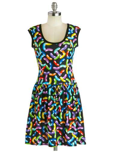 Colorful Jellybean Dresses