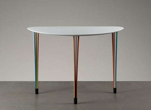 Rainbow-Legged Tables