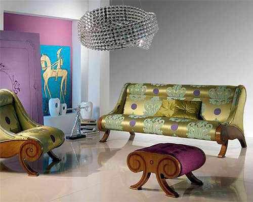 Funky Harem-Like Furniture