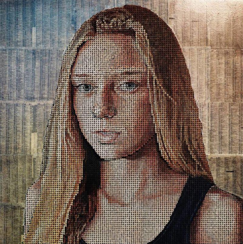 Metal Screw Portraits