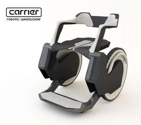 Autonomous Robotic Wheels The Carrier Wheelchair Ensures