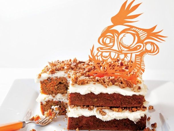 Piquant Carrot Cakes