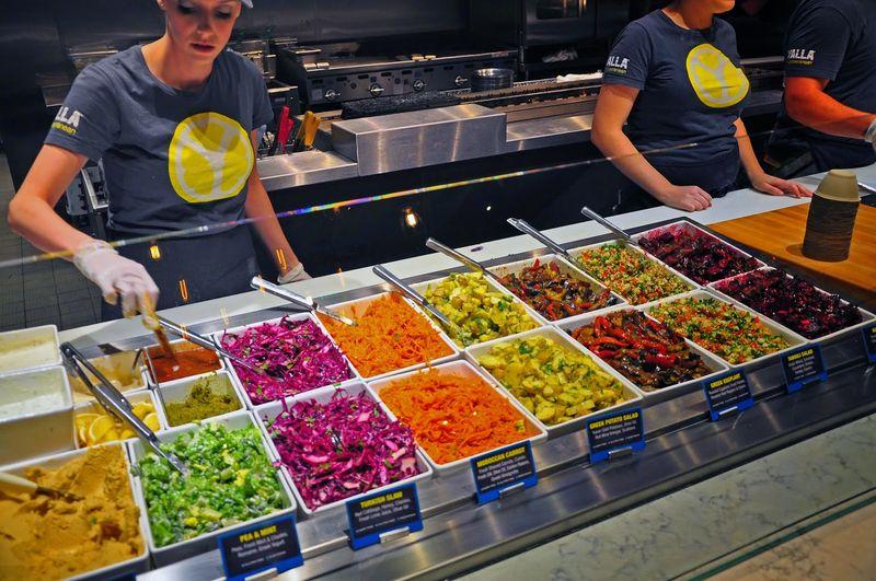 Exotic Mediterranean Salads