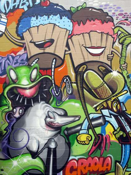 Tooned Street Art